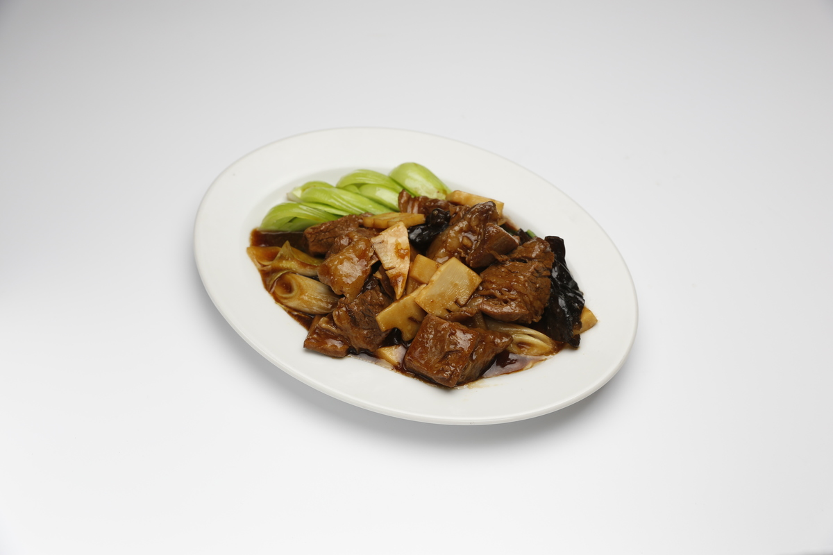 Soy sauce stew of cattle rose