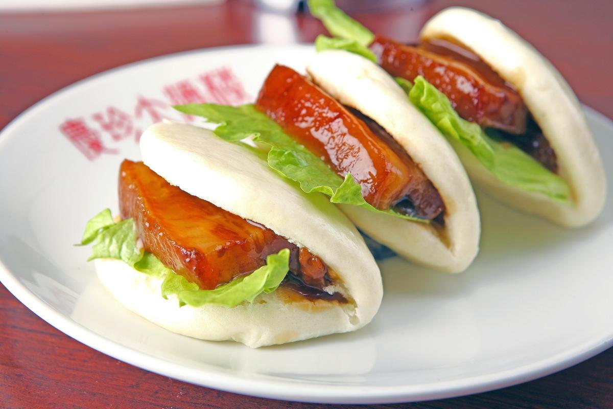 豚バラ角煮饅頭