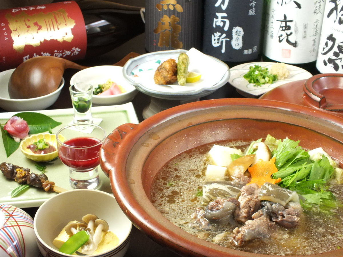 夏バテ予防に!伝統のすっぽん料理を初心者の方から玄人の方までご満足いただけます♪