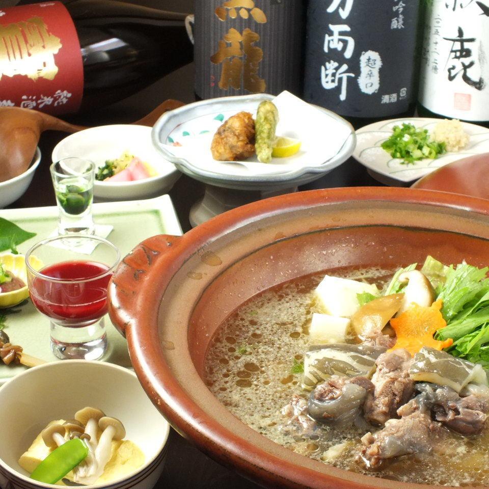 【夜メニュー】特選すっぽん鍋 8900円