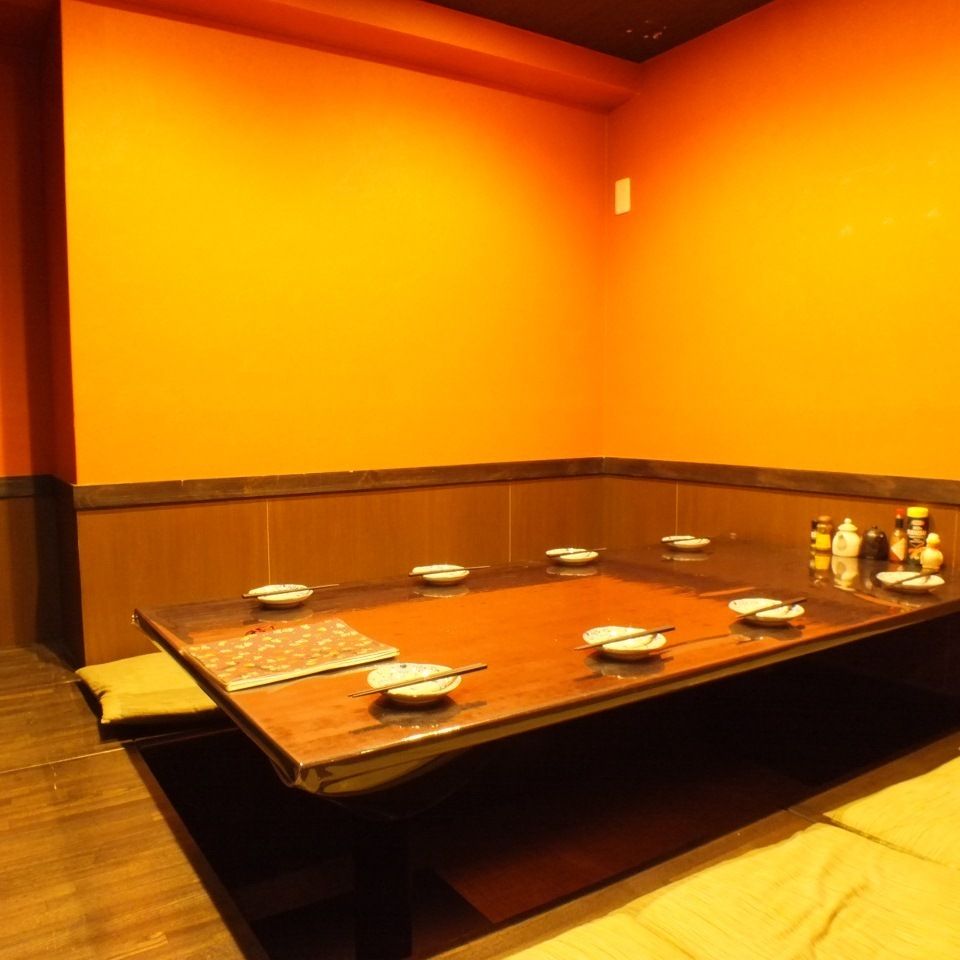 When separated by partitions from 5 to 8 people.Your stand-type parlor private room of digging available up to a maximum of 16 people.Space Katariaeru calm is perfect for entertaining.A cup in the hideout ☆ slowly relaxing space of Shinbashi leaving the hustle and bustle of the city ... ◎