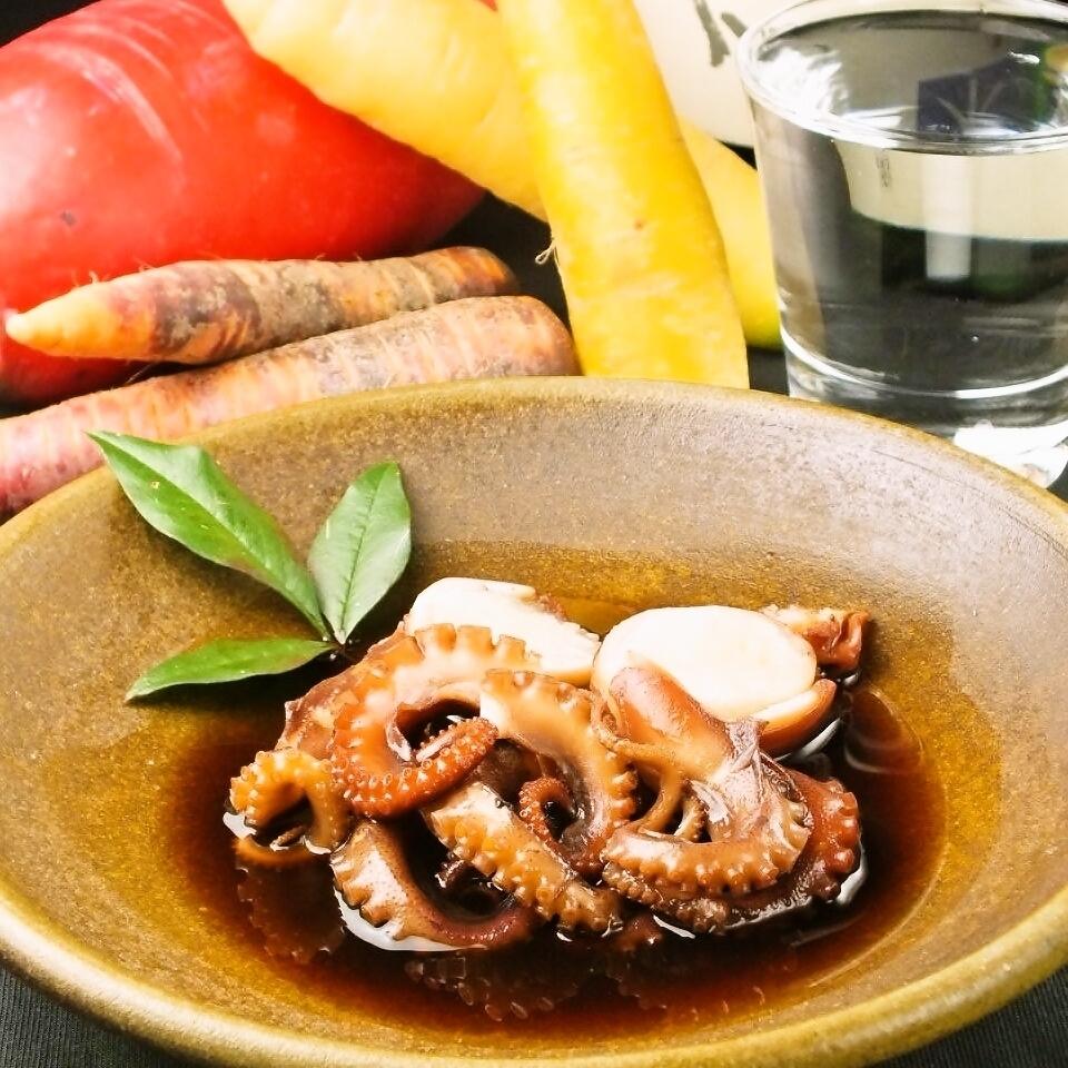 (Okayama) boiled of Whirlpool octopus