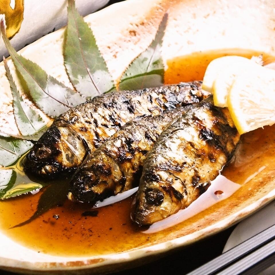 (Okayama) Sanbaizu pickled hunting remains grilled