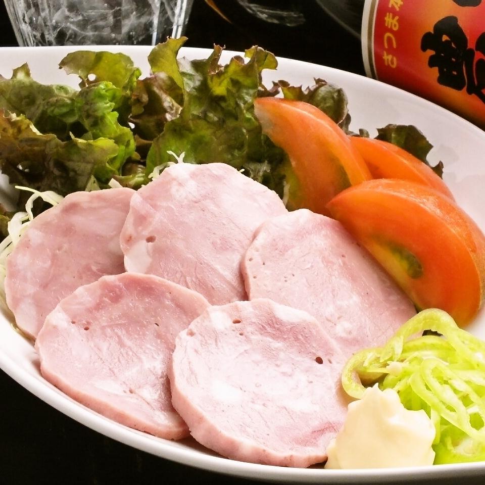 (Gifu) Aketakara ham and organic vegetable salad