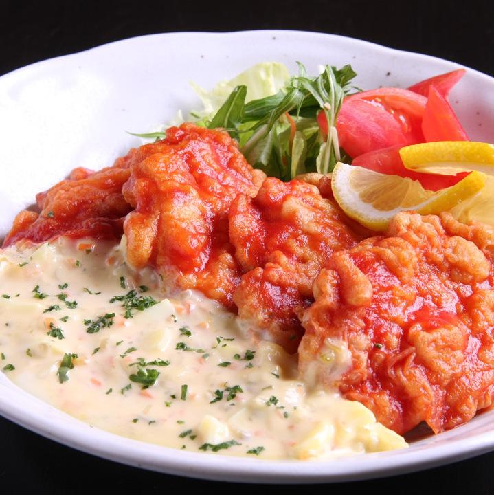 Chicken Nanban tartar sauce