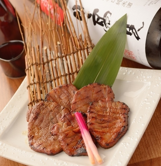 Sendai specialty! Beef tongue grilled