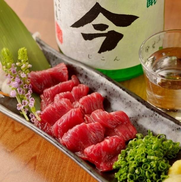 熊本直马生鱼片