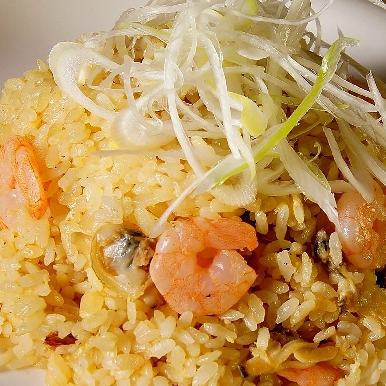Seafood Chinese fried rice
