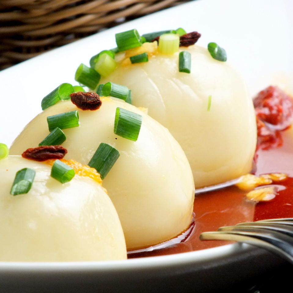 Motchiri Shiratama肉餡餃子