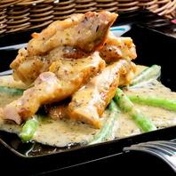 雞肉炒香香草芥末醬