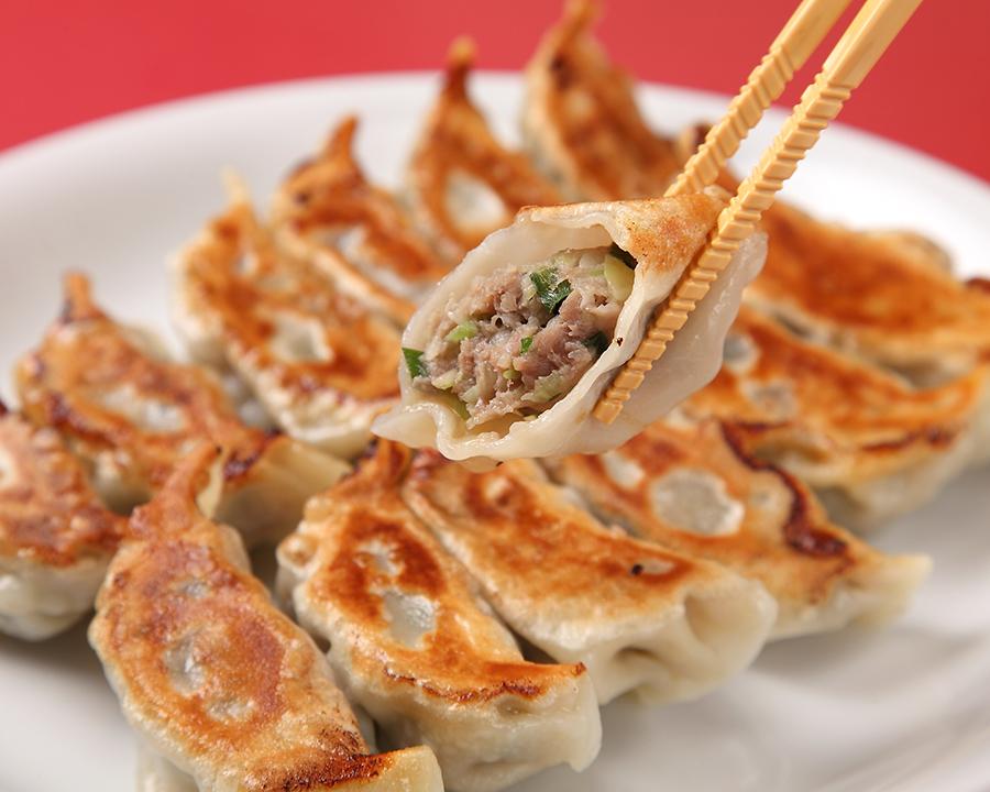 Six grilled dumplings