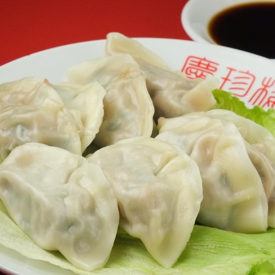 Eight water dumplings