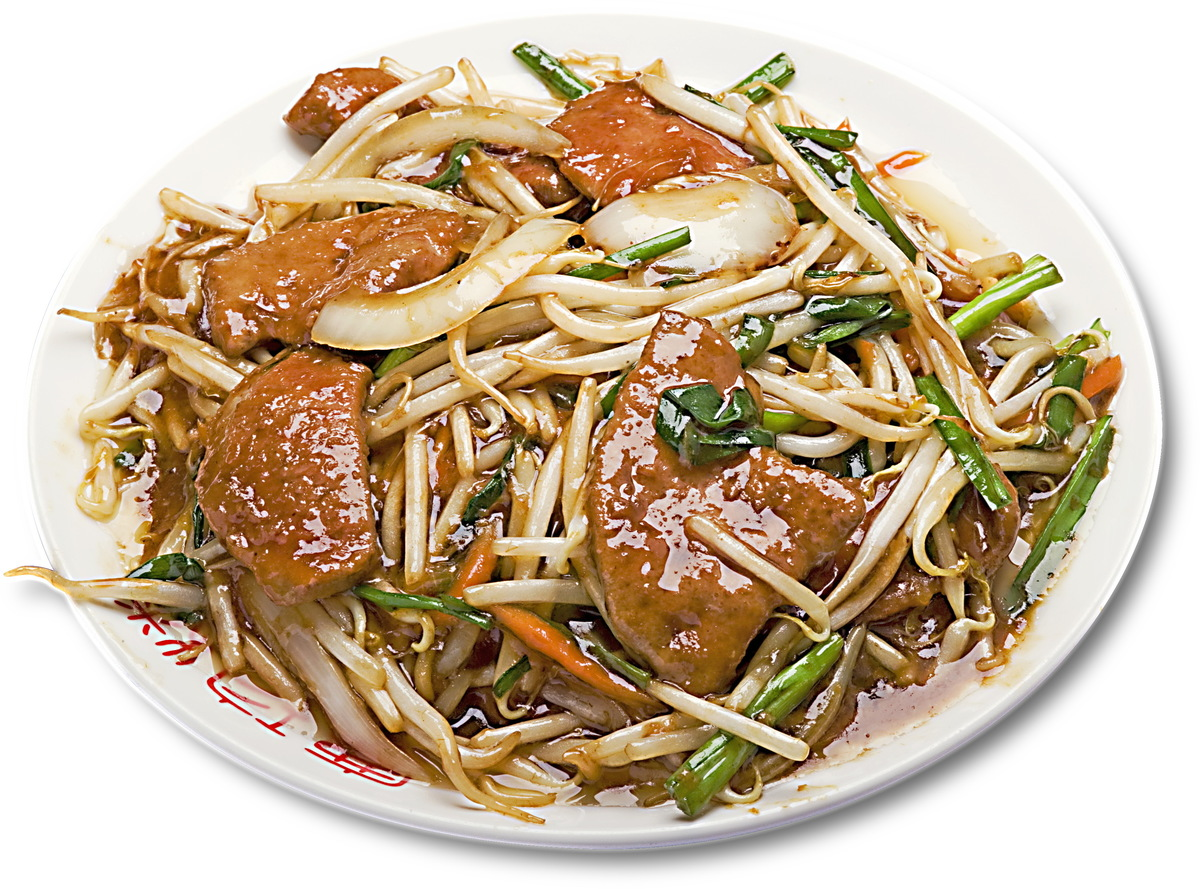 Stir-fried bean sprouts lever