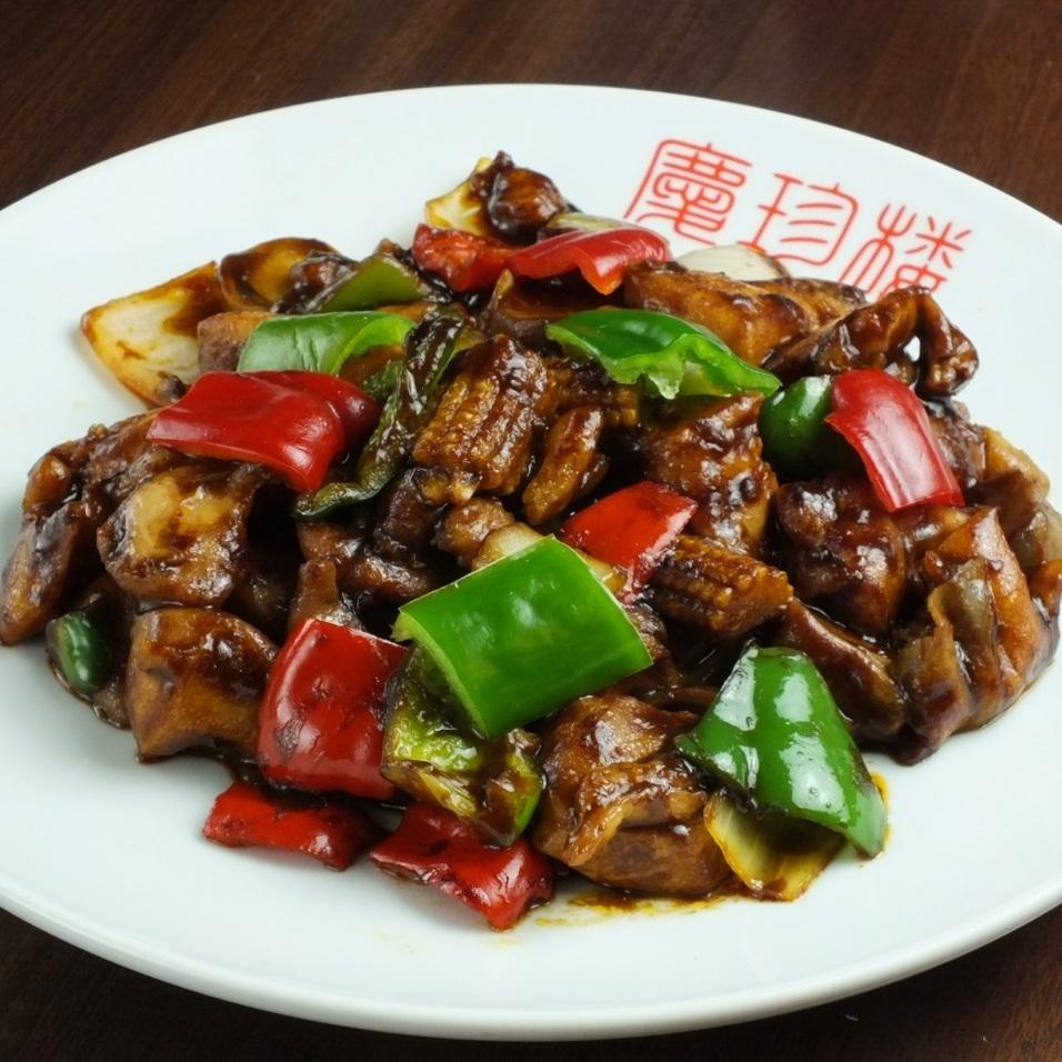 爆炒中國醬雞