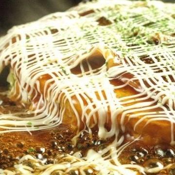[初中和高中在校学生普及♪2小时]御好烧,Monja所有45种的全友可以吃&Sofudori所有你畅饮2300日元(含税)