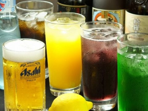【3 hours with draft beer at company banquet】 Okonomiyaki · Monja 45 kinds all you can eat and all you can drink 3000 yen (tax included)