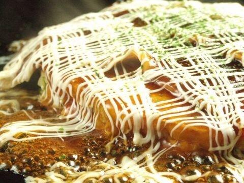 [만복 2 시간】 오코노미 야키 · 몬자야키 총 45 종류 뷔페 1850 엔 (세금 포함)