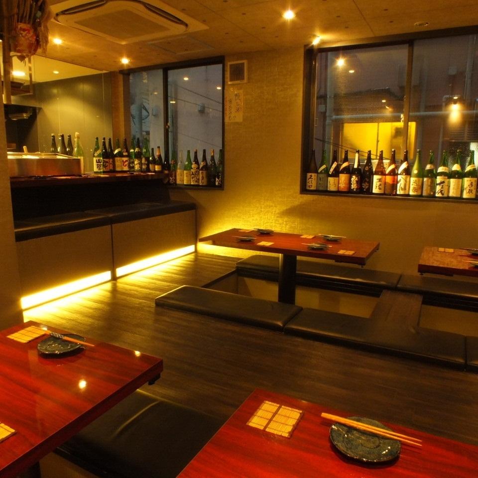 "15 people - the chartered OK! Adults retreat ""Raku 呑升"" enjoy the seasonal cuisine ♪"
