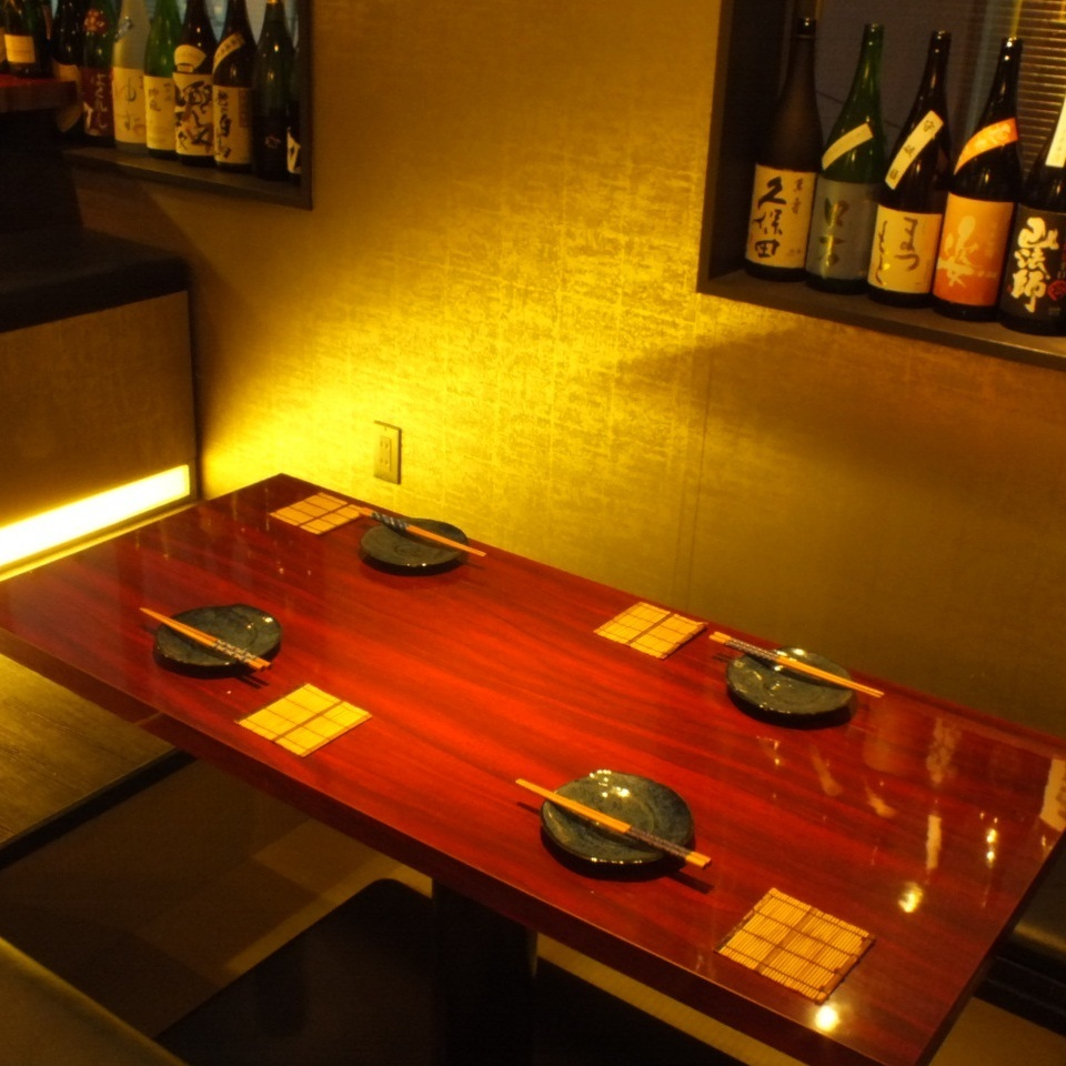 All table seats are digging available at your stand! Lighting, introspection and space that calm is exactly hideout ♪