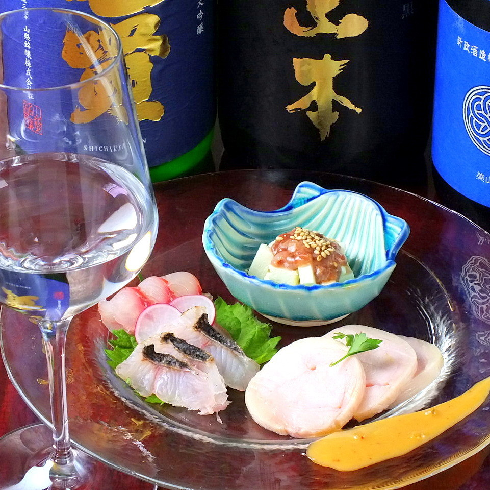 5 pairs a day Limited sake drinking 500 yen ◆ Recommended shopkeepers + Japanese sake ◆