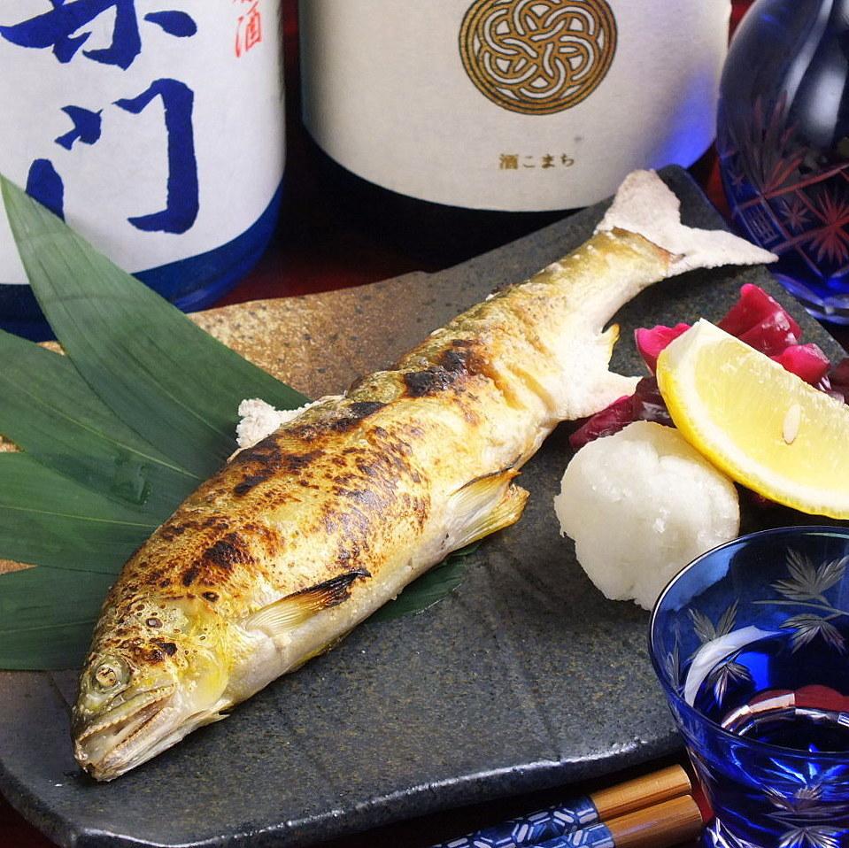 [烤]香魚