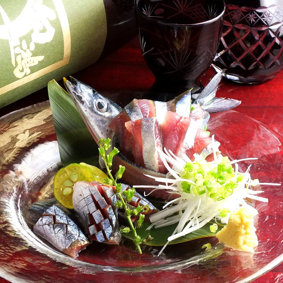 梭子鱼生鱼片