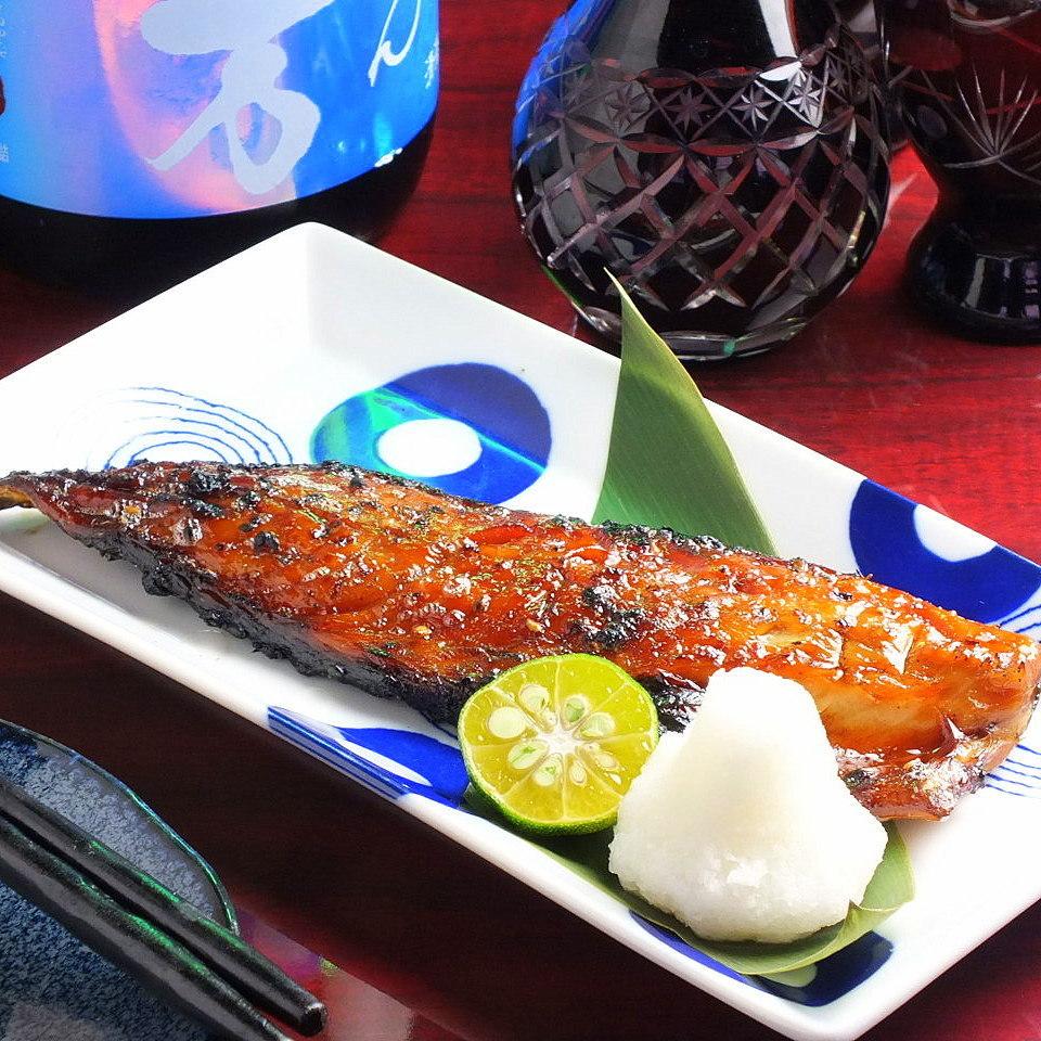 鯖の味醂干し