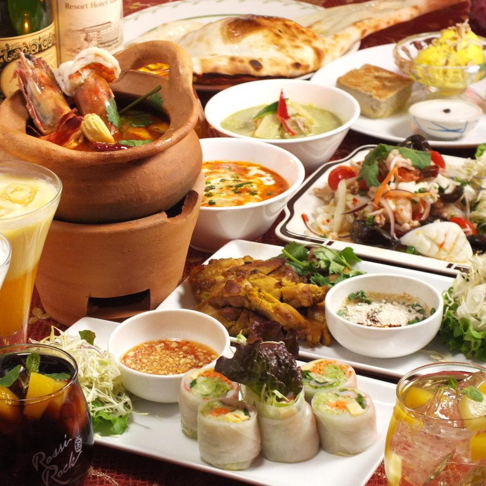 [女子会计划]标准当然,所有的7道菜+ 2H全友畅饮与2980日元(含税)