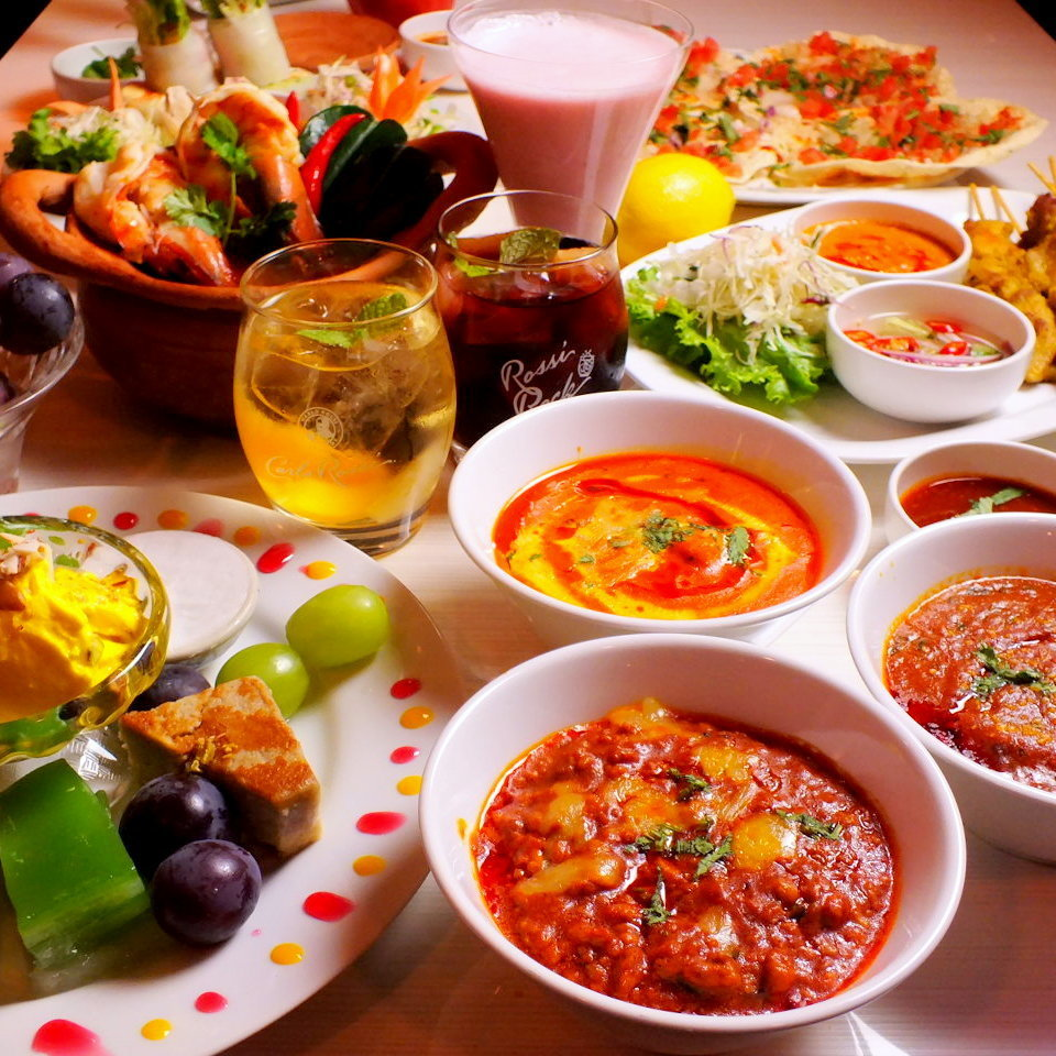 【Girls' Group Plan】 8 gourmet courses + 3 H with all you can drink 3980 yen (tax included)