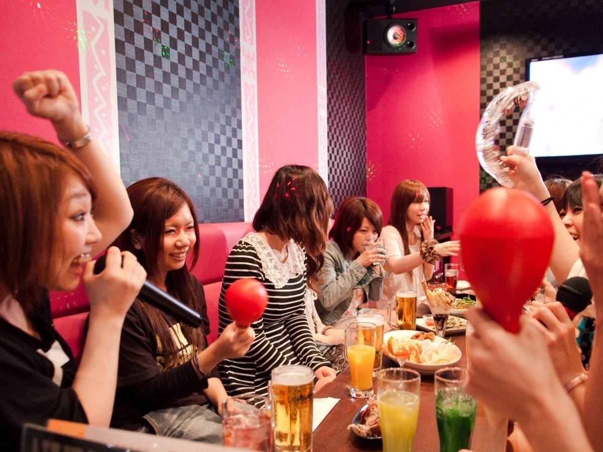 歌って♪食べて♪飲んで♪すべてをお楽しみ頂けます!!