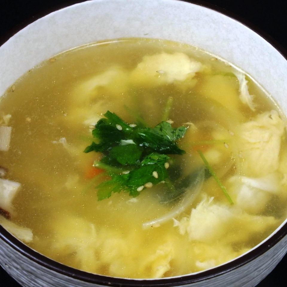 蓬鬆雞蛋湯