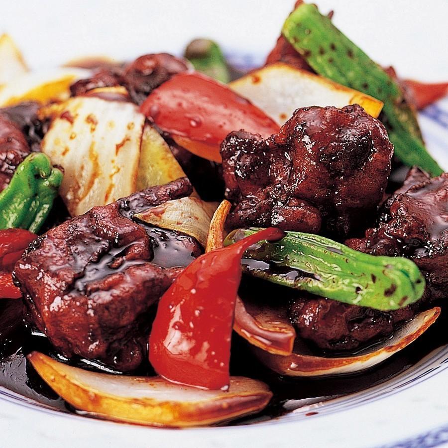 華菜家自家製 黒酢の酢豚