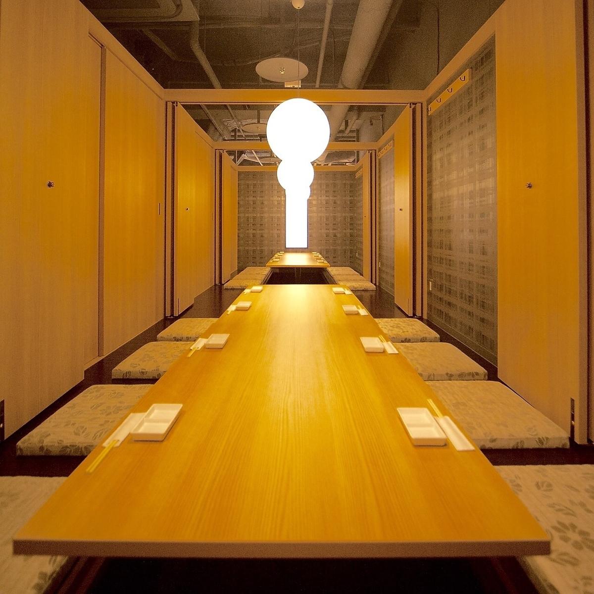 「宙」(大通公園を一望できるビルの8階)で北海道の食の「惠」みを楽しめる海鮮居酒屋