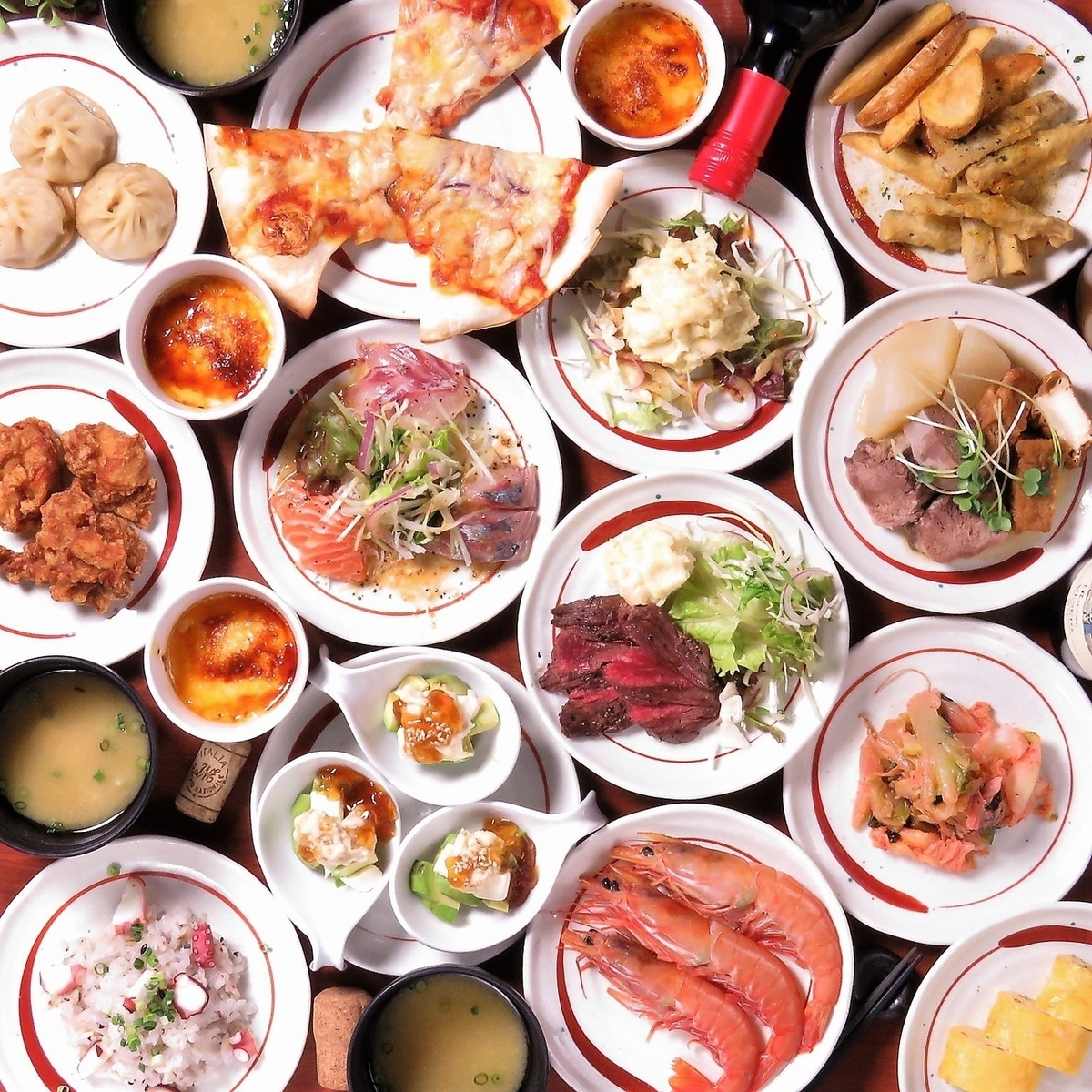 【肉×夏野菜 】りんやのいいとこどり★『りんとりコース』料理のみ10品2000円※コーヒー付き