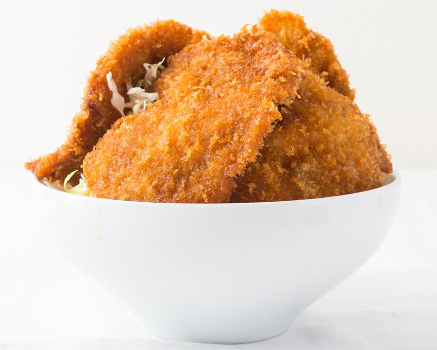 メガ盛!ソースかつ丼 大((サラダ・味噌汁・ドリンクバー付)