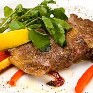 Black pepper grilled Iberian pig