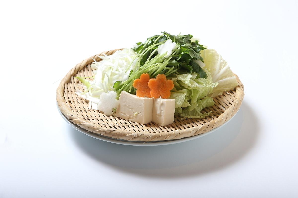 季節の野菜盛り(2人前)