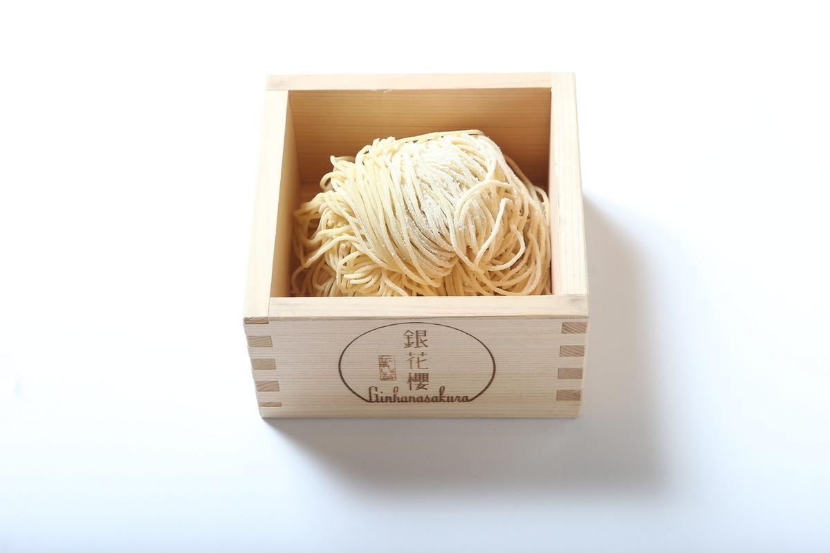 升萬食品の特製中華麺