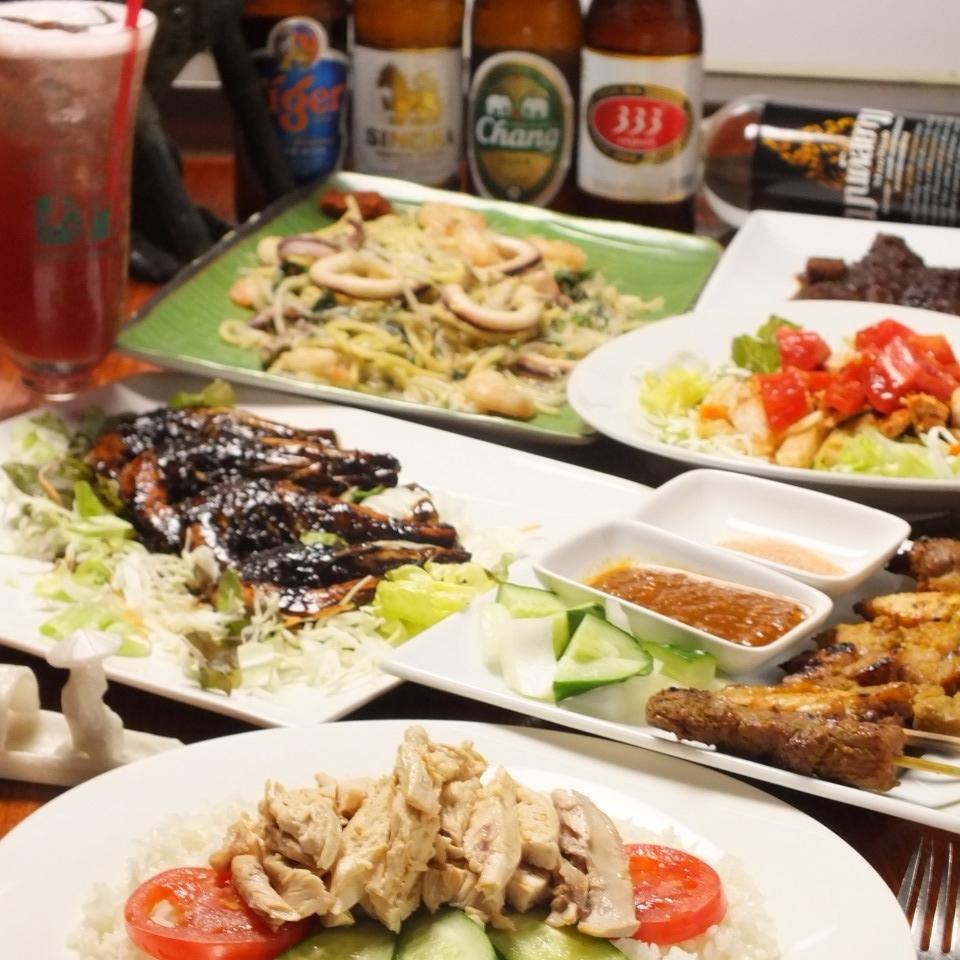 神保町駅から徒歩1分◎神保町で大人気のシンガポール料理が楽しめるお店♪