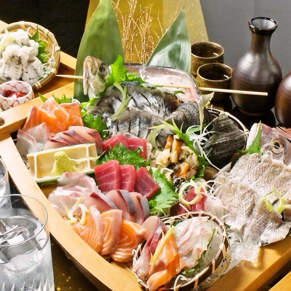 飲み放付3500円~!肉・魚メインのコースをご用意!