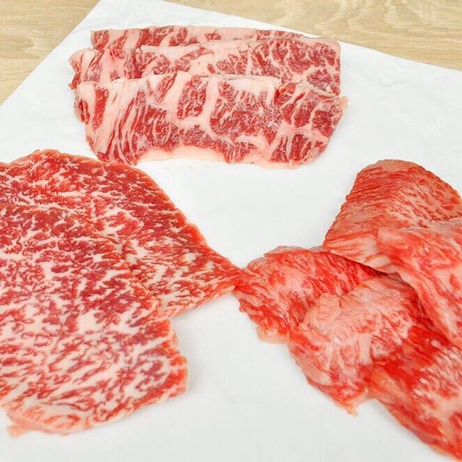 こだわり抜いた鮮度抜群の上質なお肉の数々。口の中で上質な脂がとろけます、、、