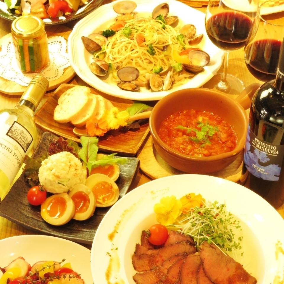 【ちょっとセレブに】『こだわり食材の満足』☆コース3500円