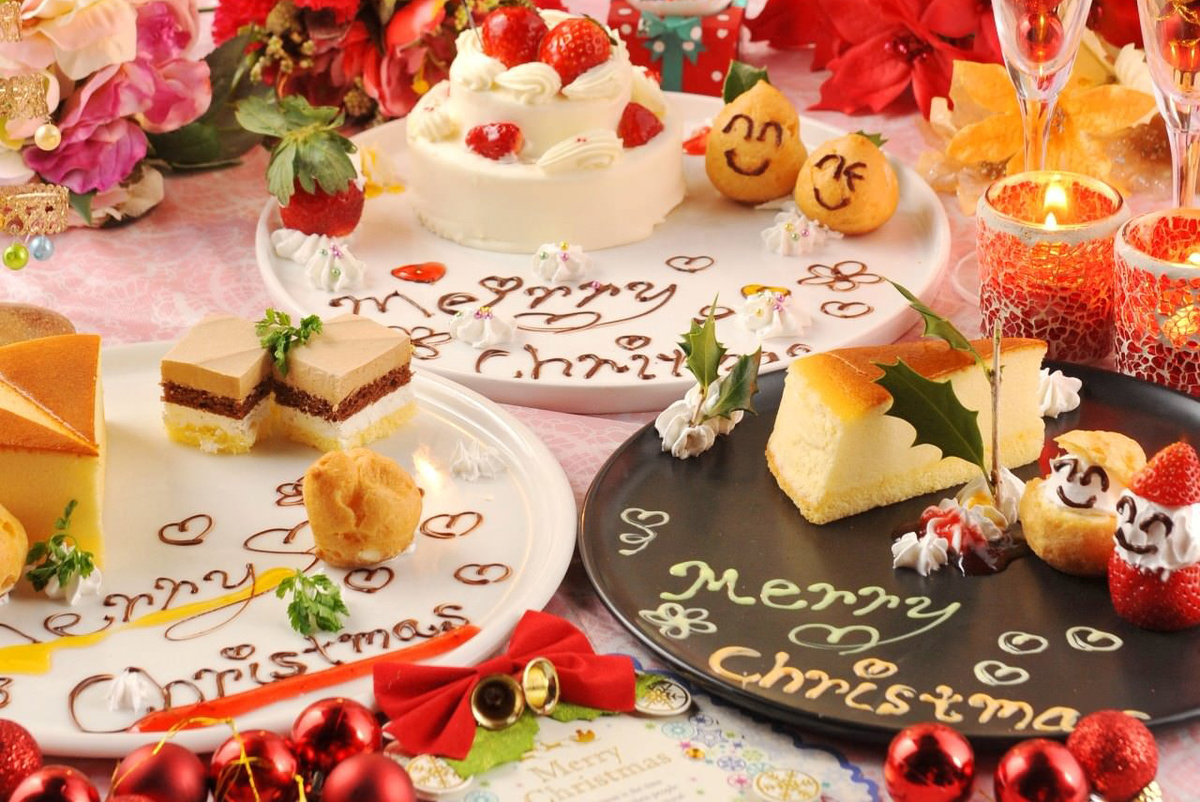 Every day OK ♪ arrival 5 sets like limited! Dessert plate gift! Hall cake Waffle Tower with a message also available OK ♪