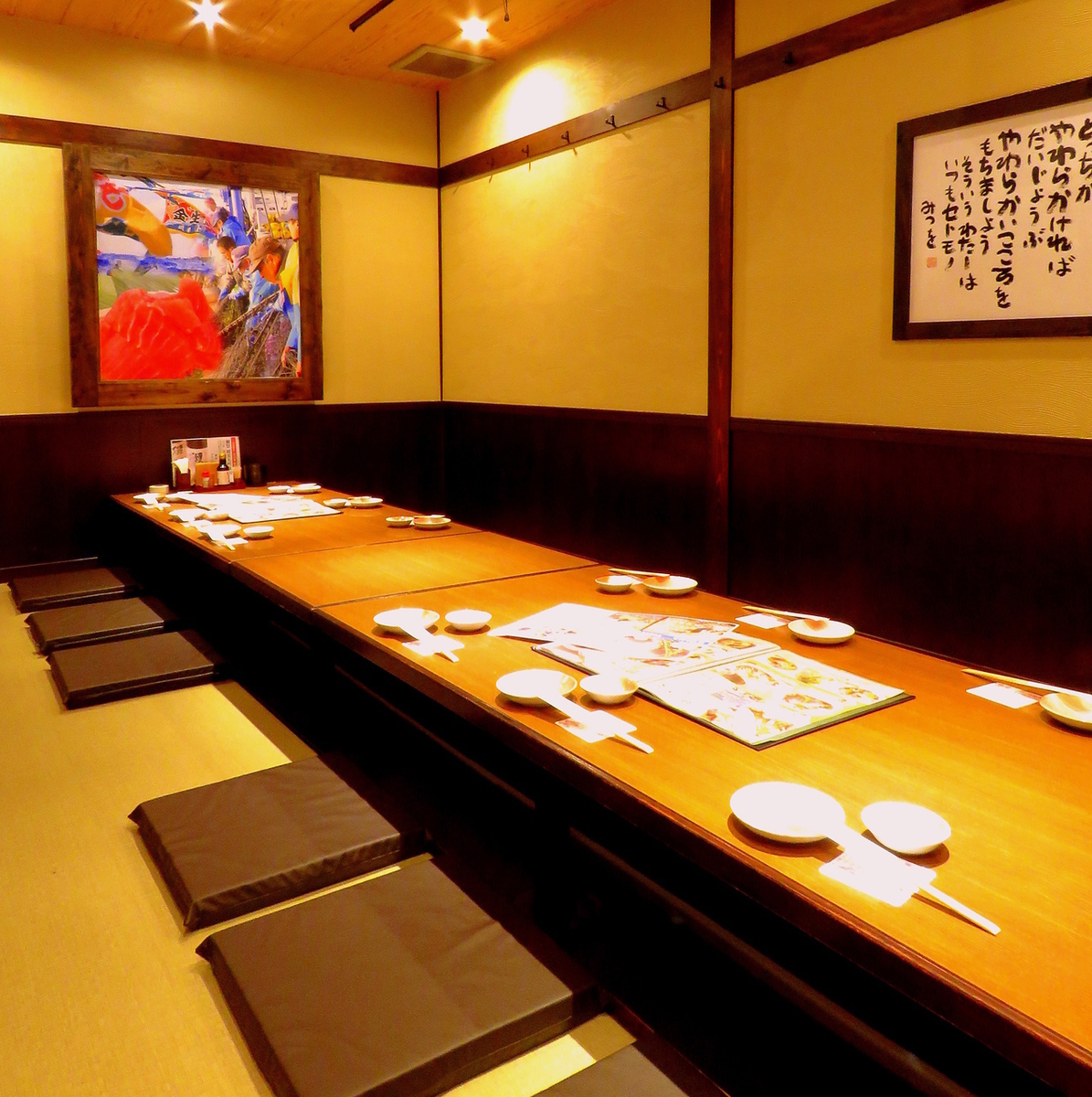Station 2-minute walk ★ in calm lighting, up to 80 people of the correspondence of private room is a lot! The second floor until the store ♪ 4 ~ 36 people to relax and forget the time the station's largest if charter OK!