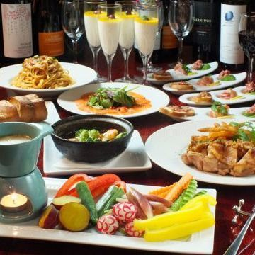 [Little Butcher × Women's Association] all you can drink with a 10-course ★