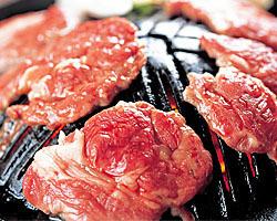 «Charcoal stove» raw lamb Genghis Khan