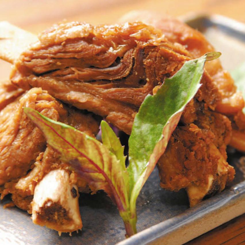 绍基煮(煮的带骨肋)