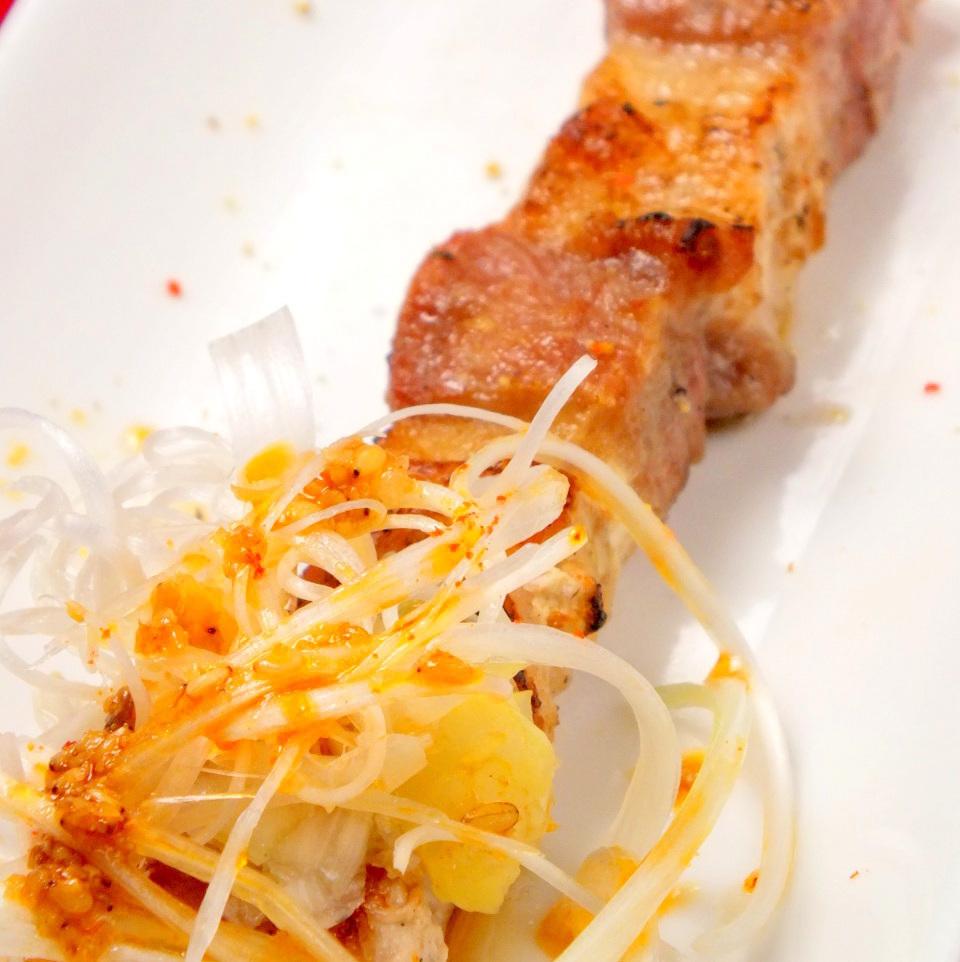 豚バラ(葱塩・特製タレ)