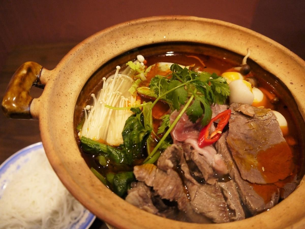 Raubo(牛肉锅),辣或不辣
