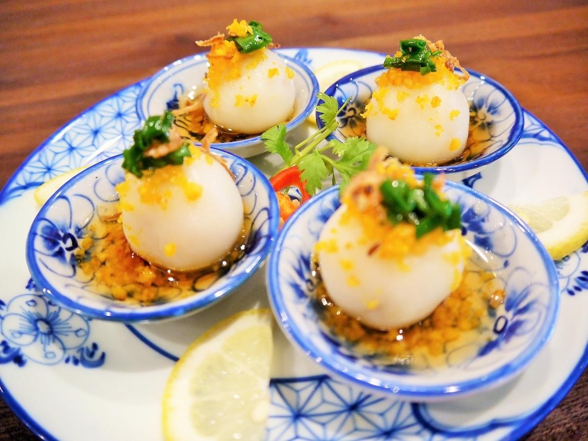 Bain'itto(糯米糕蒸虾饺子)